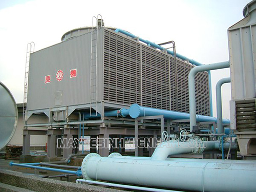 Tháp giải nhiệt nước được ứng dụng trong nhiều lĩnh vực của đời sống xã hội