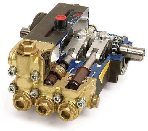 Đầu bơm rửa xe piston trục khủy thanh truyền
