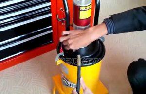 hướng dẫn cách sử dụng máy bơm mỡ