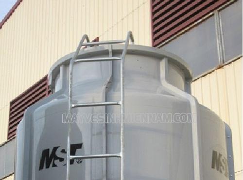 Tháp giải nhiệt tròn được ứng dụng rộng rãi trong nhiều ngành công nghiệp