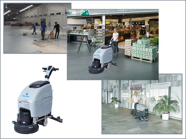 Máy chà sàn là thiết bị vệ sinh hiện đại và hiệu quả