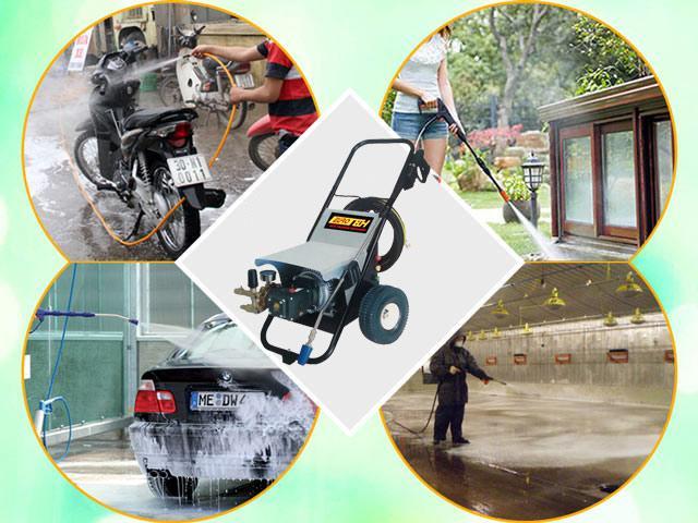 các ứng dụng của máy rửa xe Eurotech