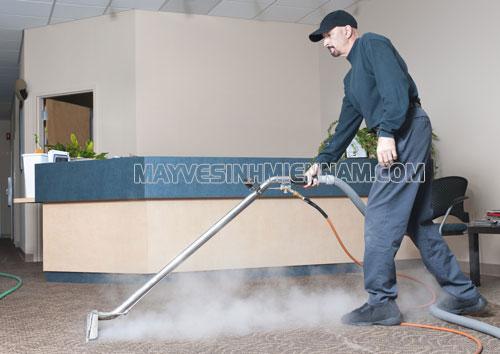 Máy giặt thảm hơi nước ngày càng được ưa chuộng