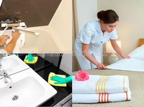 Các công việc cần làm khi vệ sinh nhà cao tầng