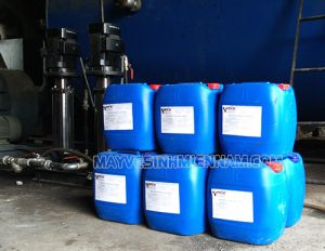 Hóa chất xử lý dùng trong tháp giải nhiệt giúp ức chế cáu cặn