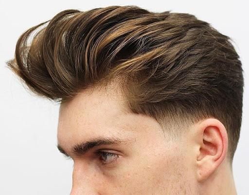 Tóc Pompadour tóc nam đẹp